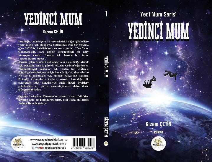 """""""Yedinci Mum"""", Yedi Mum Serisi'nin İlk Kitabı Çıktı"""